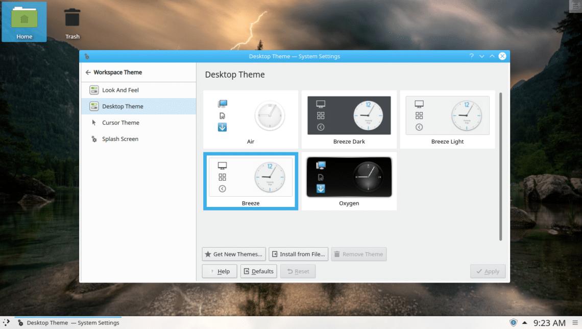 How to Install KDE Desktop Environment on Linux Mint 19 Tara
