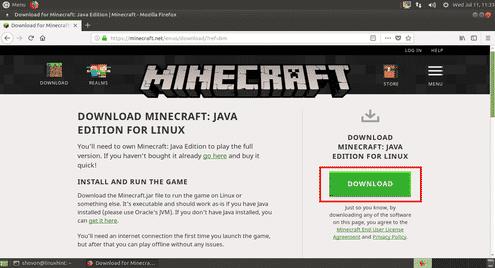 How To Install Minecraft Game On Ubuntu LTS Linux Hint - Minecraft server erstellen linux ubuntu