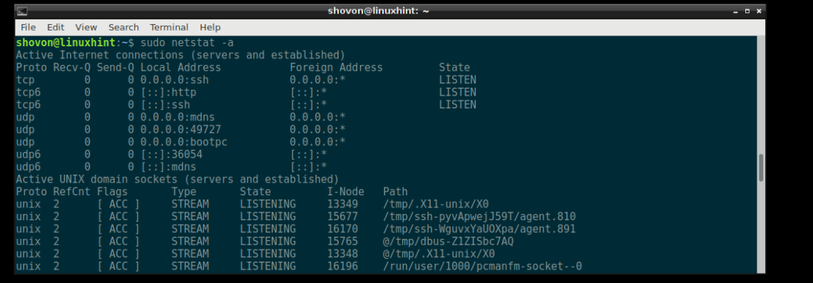 How to Use Netstat Command in Linux to Check a Specific Port – Linux