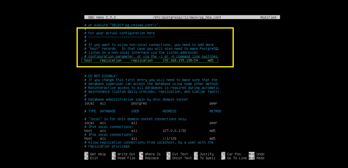 How to Setup PostgreSQL 11 Replication – Linux Hint