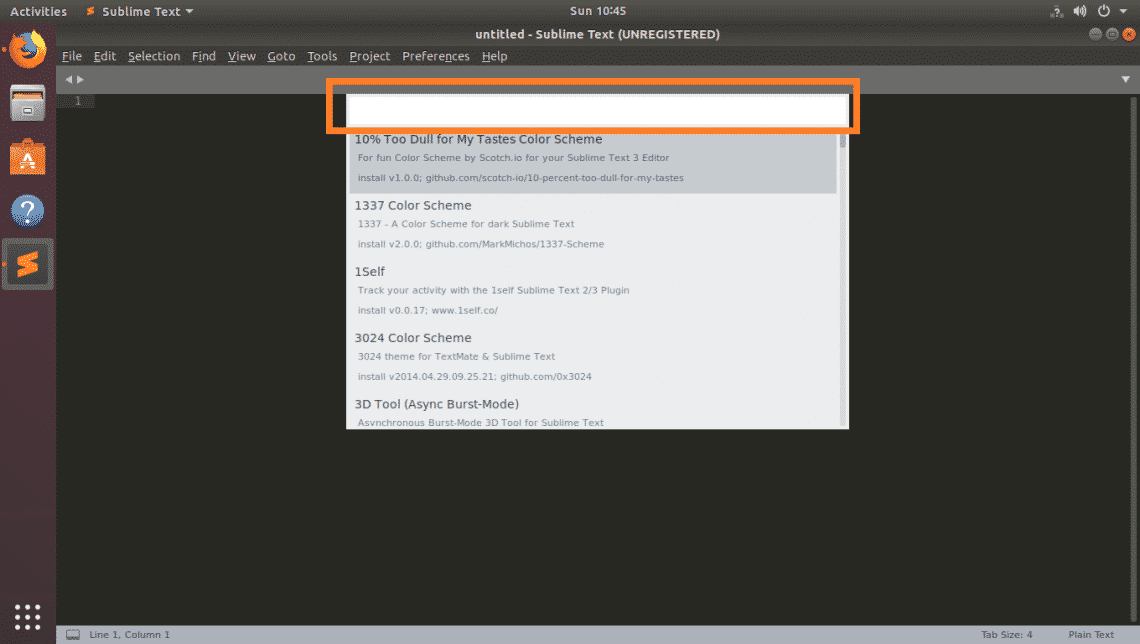 How to Use Color Schemes with Sublime Text – Linux Hint