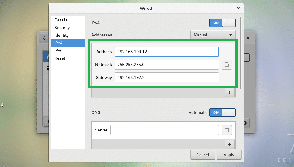How to Setup a Static IP on CentOS 7 – Linux Hint