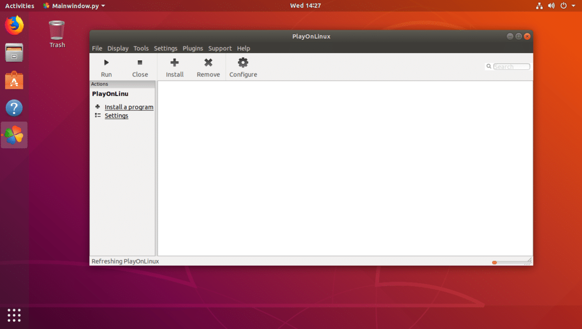 How to Run 32-bit Windows Programs on 64-bit Ubuntu 18 04 LTS