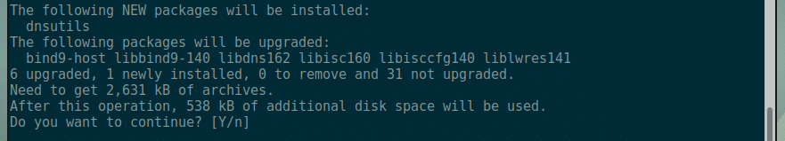 How to Install and Use DIG on Debian 9 – Linux Hint
