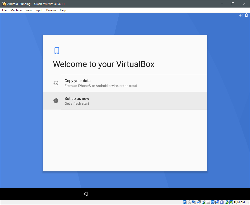 Installing Android on VirtualBox – Linux Hint