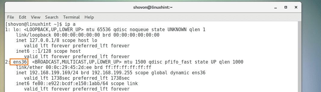 How to Configure The Network on CentOS7 – Linux Hint