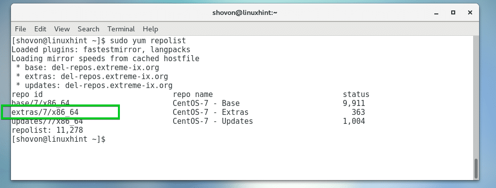 How to Use EPEL on CentOS 7 – Linux Hint