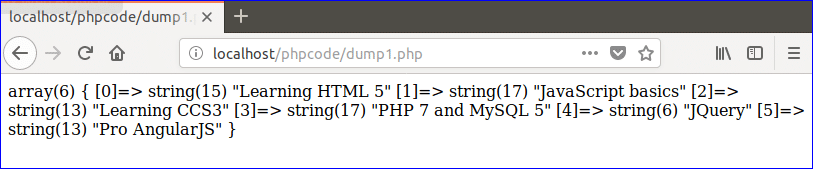 How to Print Arrays in PHP – Linux Hint