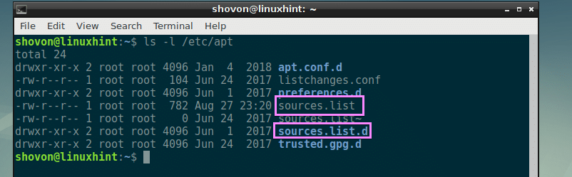 Understanding and Using sources list for Ubuntu – Linux Hint