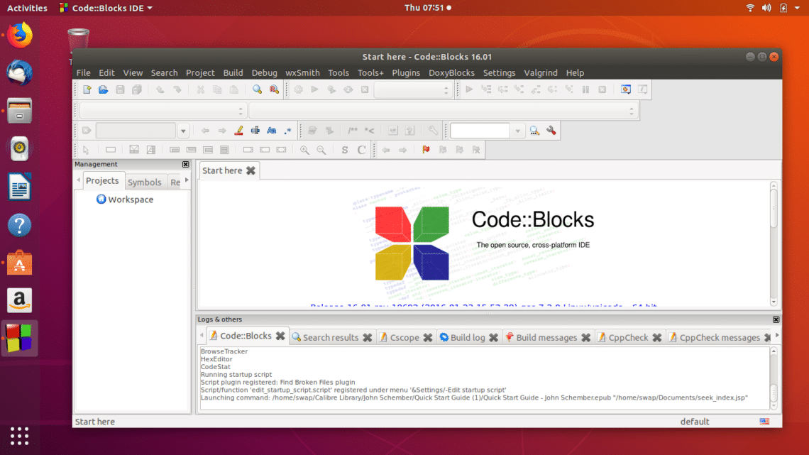 code blocks free download for windows 7 professional