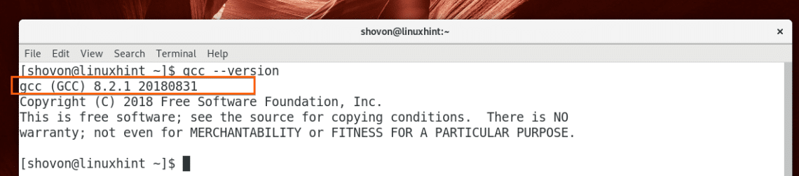 Compile C Program in Linux Using GCC – Linux Hint