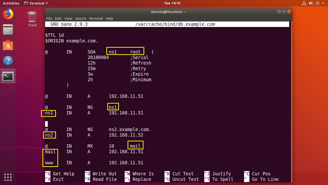 Install BIND 9 on Ubuntu and Configure It for Usage – Linux Hint