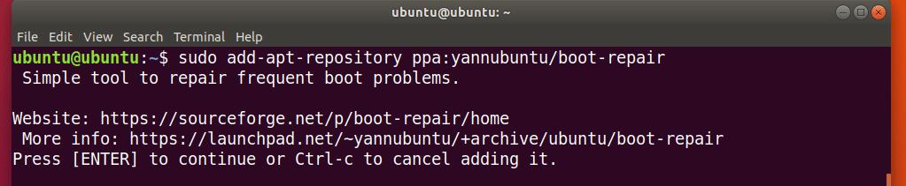Ubuntu Boot Repair Tutorial – Linux Hint