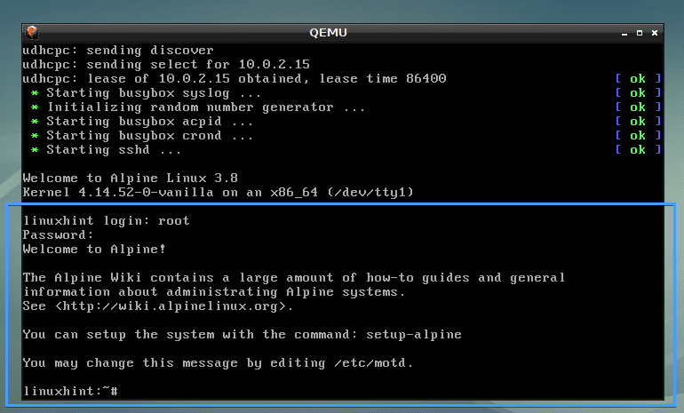 How to Install and Use QEMU on Debian 9 – Linux Hint