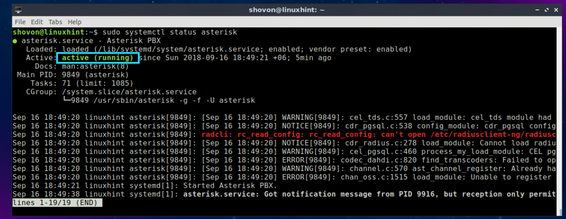 Install Asterisk VoIP Server on Ubuntu – Linux Hint