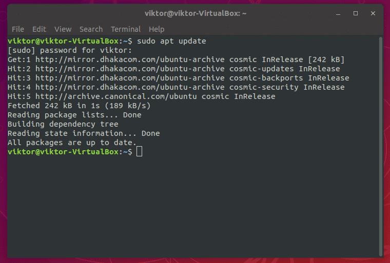 Update Ubuntu Terminal Color Scheme – Linux Hint