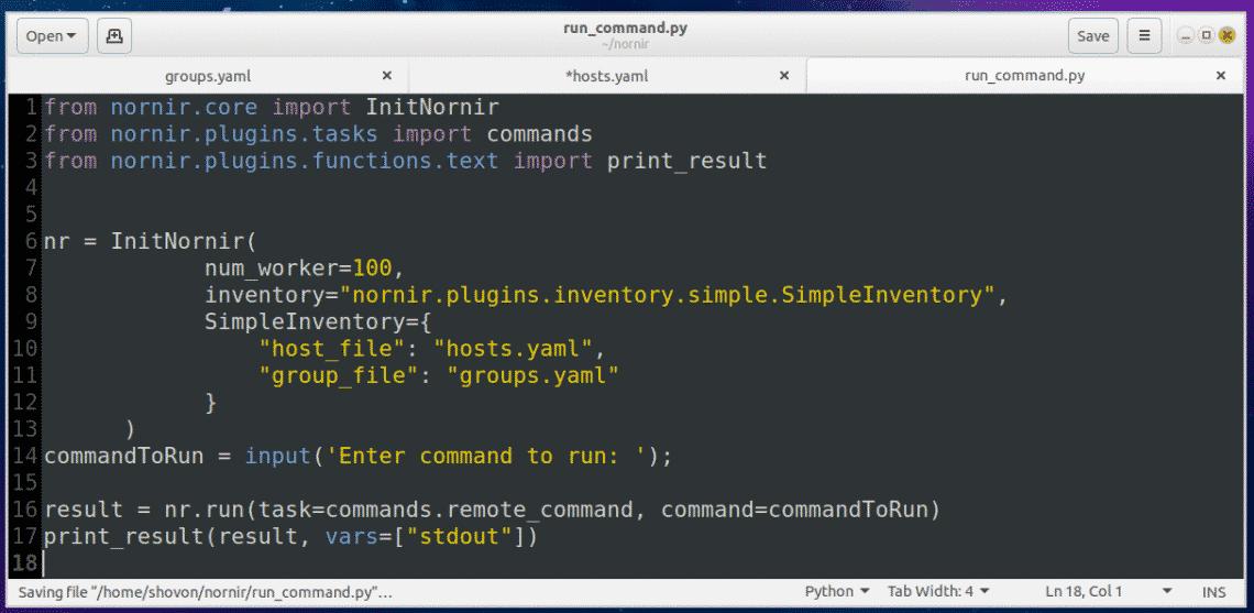 Install nornir Python Library on Ubnutu – Linux Hint
