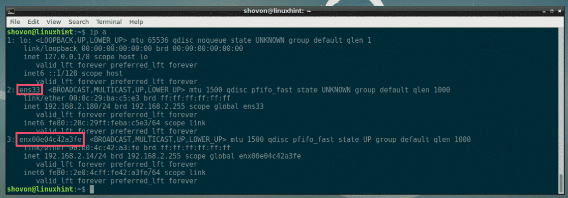 ethtool Commands and Examples – Linux Hint