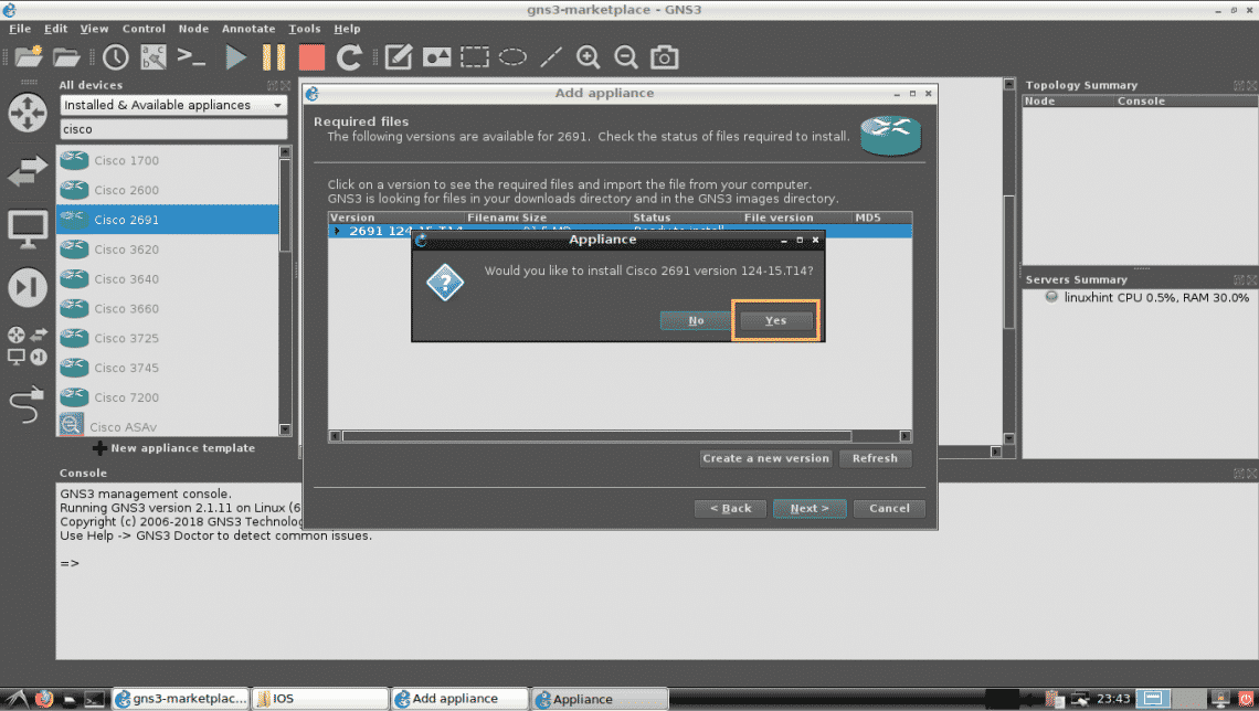 The GNS3 Marketplace – Linux Hint