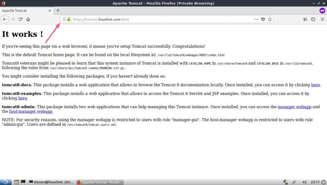 Tomcat Install SSL Certificate – Linux Hint