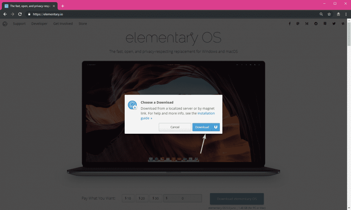 elementary os juno download