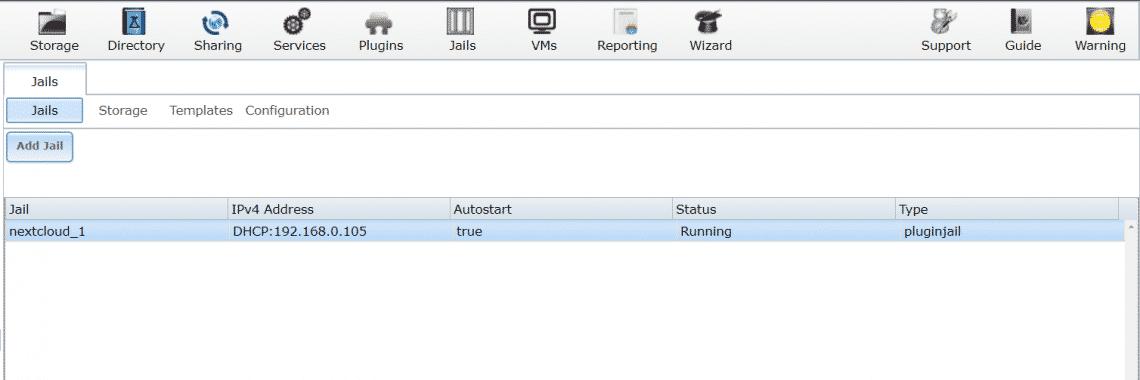 Install Nextcloud on FreeNAS – Linux Hint