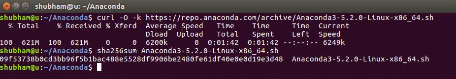 Check Anaconda integrity