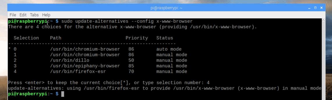 Install Firefox on Raspberry Pi – Linux Hint