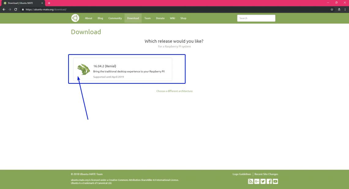 installer ubuntu mate raspberry pi