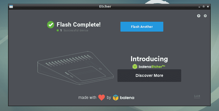 Install Etcher on Linux – Linux Hint