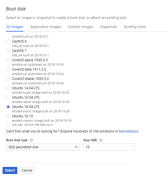 Create your own Ubuntu Server on Google Cloud Platform – Linux Hint