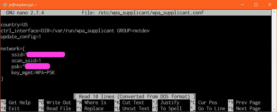 Raspberry Pi Connect to Wifi Using wpa_supplicant – Linux Hint