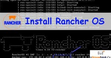 Install Rancher OS