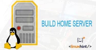 build home server