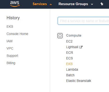 Creating Kubernetes Cluster Using Amazon's EKS Service