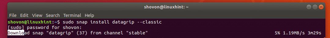 How to Install Jetbrains DataGrip on Ubuntu – Linux Hint