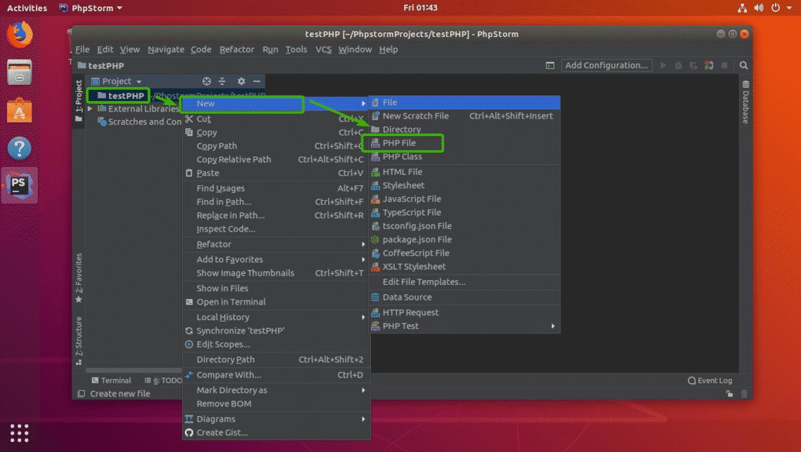 how to run phpstorm in ubuntu