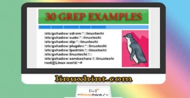 30 GREP EXAMPLES