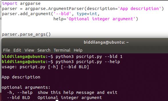 Python Command Line Parsing Tutorial – Linux Hint
