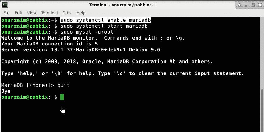 Setting Up Zabbix Server on Debian 9 0 – Linux Hint