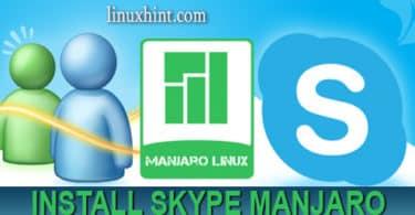 Install Skype on Manjaro Linux
