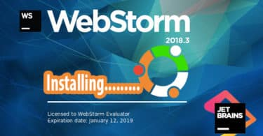 Install JetBrains WebStorm on Ubuntu
