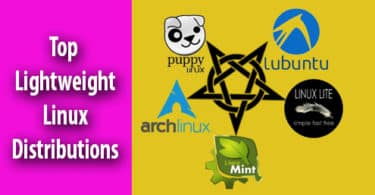 Top Lightweight Linux Distributions