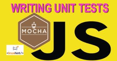 WRITING UNIT TESTS MOCHA JS