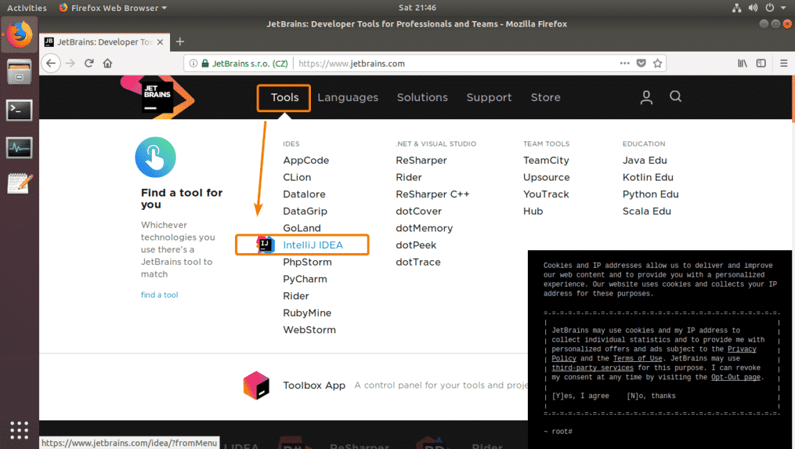 Install JetBrains IntelliJ IDEA Java IDE on Ubuntu – Linux Hint