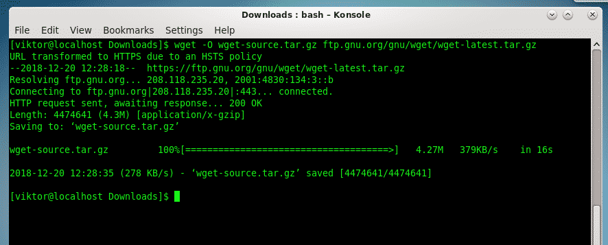 CentOS Wget Install and Usage – Linux Hint