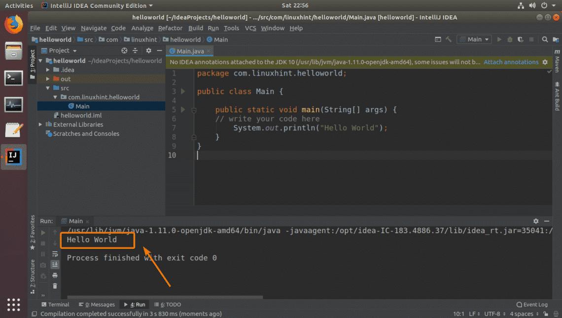 Install JetBrains IntelliJ IDEA Java IDE on Ubuntu – Linux Hint