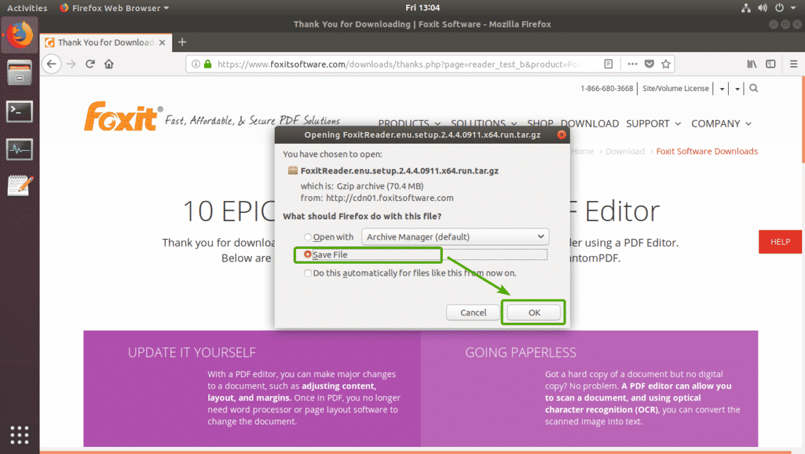 How to Install Foxit Reader on Ubuntu – Linux Hint