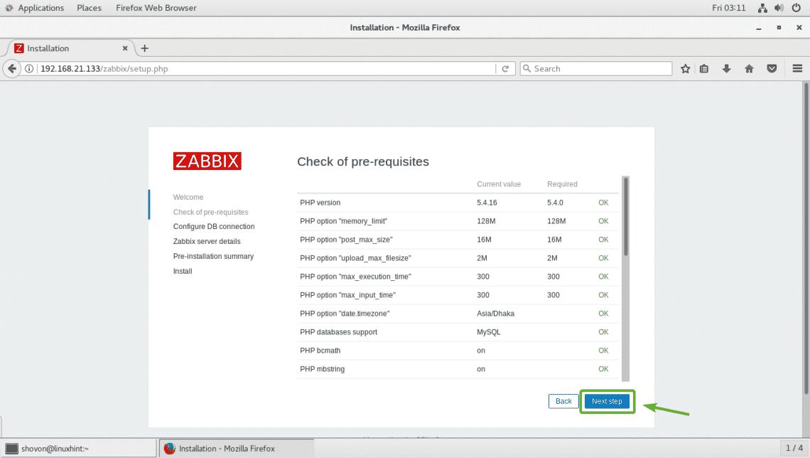 Install Zabbix 4 0 on CentOS 7 – Linux Hint