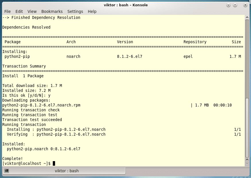 CentOS Install AWS CLI – Linux Hint